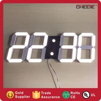 Double Color 4 Inch Digital Timer Table Alarm Clock