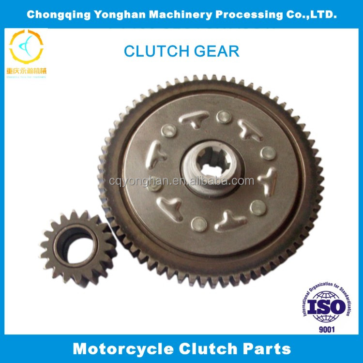 OEM 70 67-18T Clutch Master-slave pair for motorcycle, drive gear set