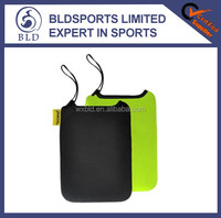 Wholesale price and neoprene personalized mobile phone pouch