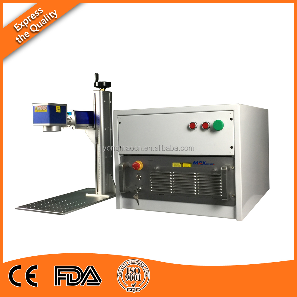 100W high precision fiber <strong>laser</strong> source fiber <strong>laser</strong> marking machine for metal