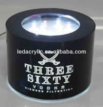 three sixty vodka led bottle glorifier for promotion gift