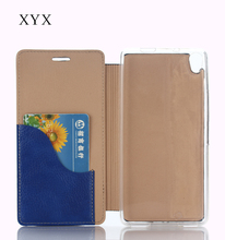 accesories cellphones flip case for zte open c2 with ultra thin double layer folding leather style