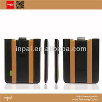 Hot selling high class PU leather product OEM new products 2013 for ipad case