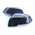 Car replacement parts carbon fiber rear view mirror cover