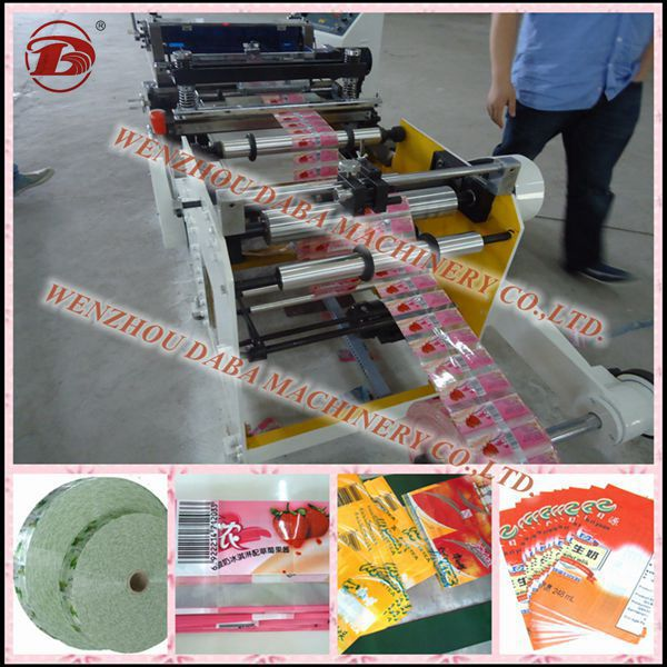 Shrink Roll to Roll Label Cutter Machine