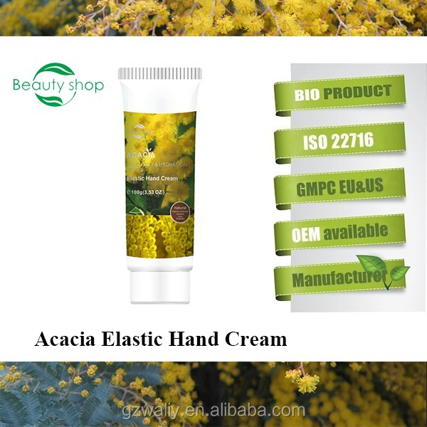 Natural acacia super elastic moisturizing hand care cream