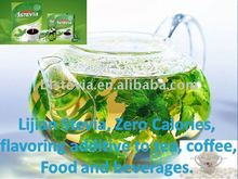 stevia / stevia powder / Stevia Rebaudiana as flavoring additives to coffee, tea, food and beverage