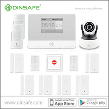 2015 World first release GSM Wifi house security alarm system with IP internet APP