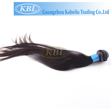 KBL wholesale 100% unprocessed indian remy hair straight