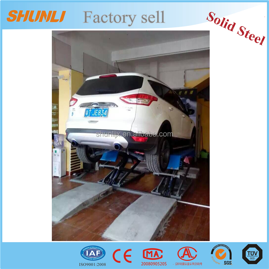 Factory sale 3T ultrathin small car hydraulic lift