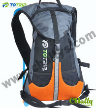 Orange Helmet pocket sport hydro pack