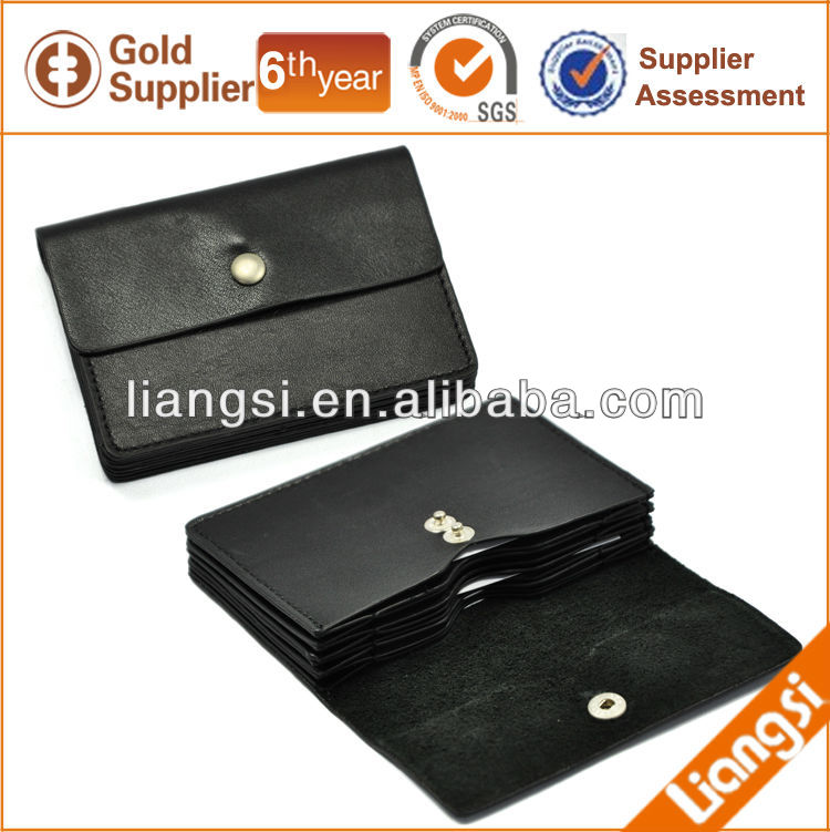 Genuine leather atm card pouch