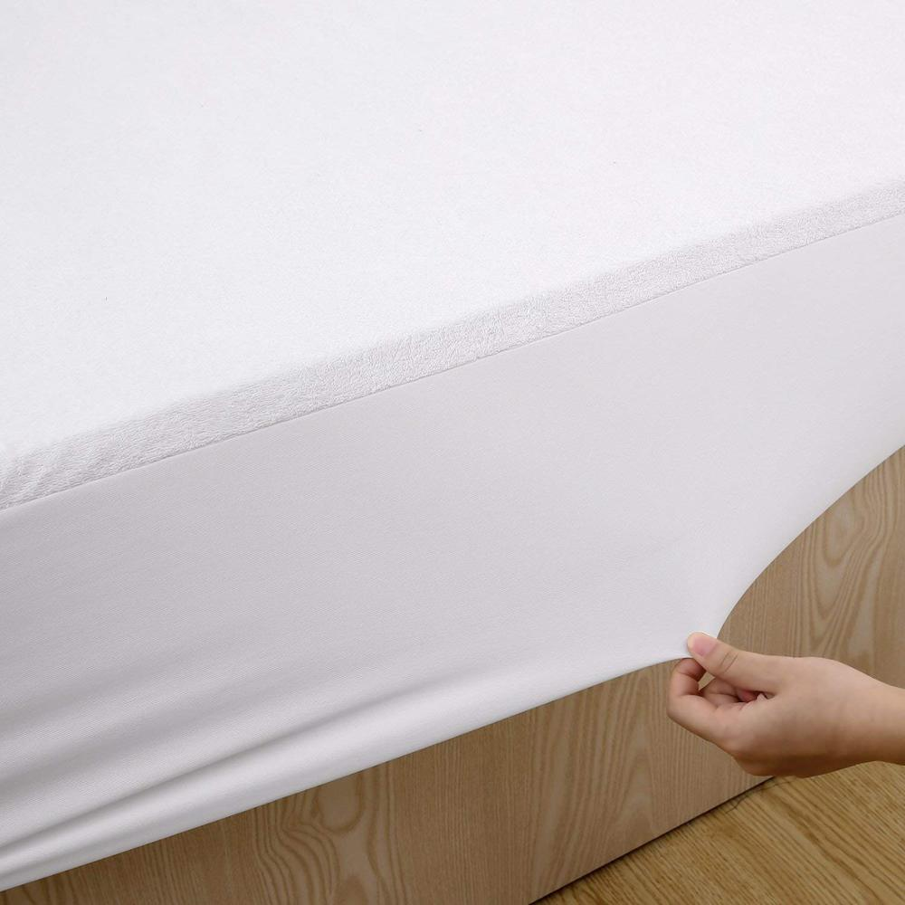 Breathable Fitted Vinyl Free Waterproof Mattress Protector Cover - Jozy Mattress | Jozy.net