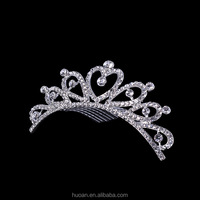 New arrival princess crown for girls children crowns and tiaras for 2016