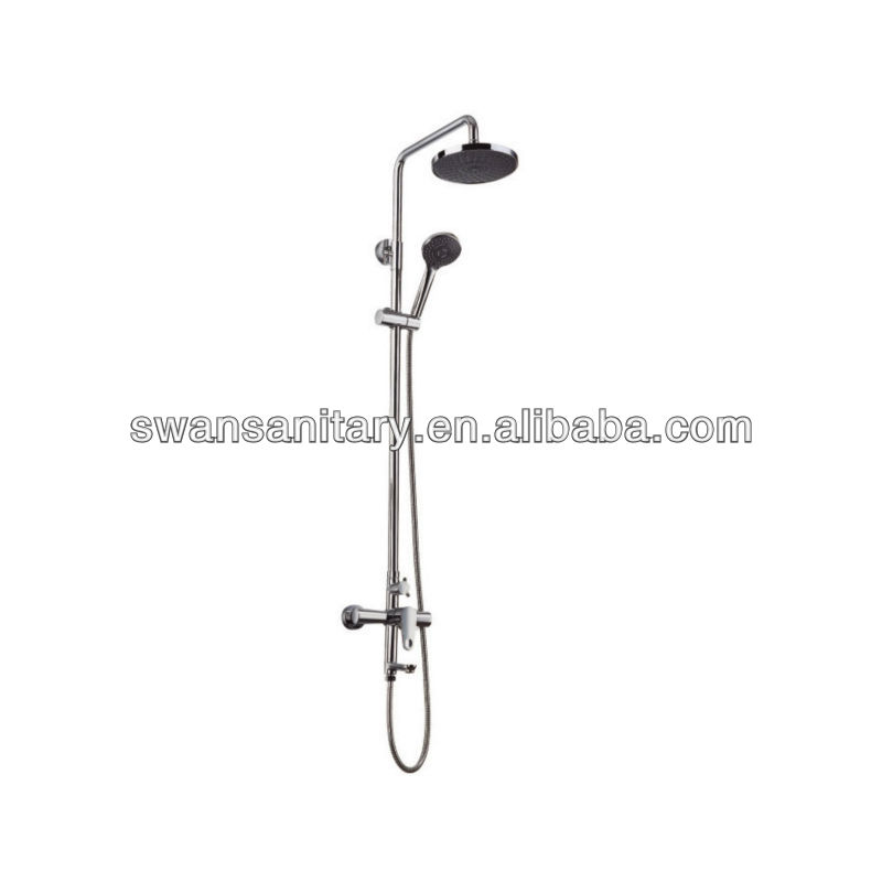 shower top spraying handle shower