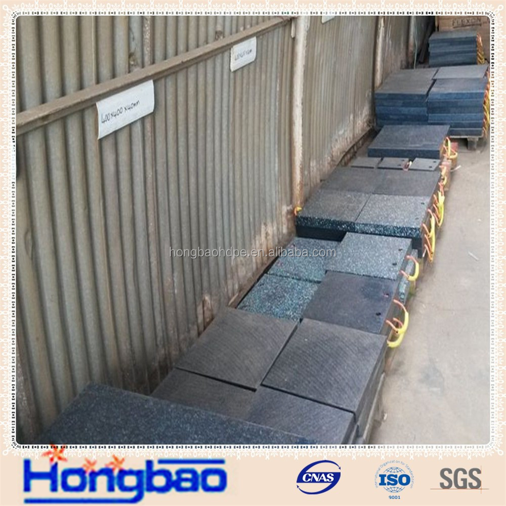 uhmwpe ground protection/heavy duty matting for vehicles/construction track road mat