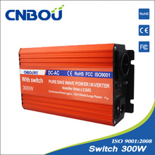 60HZ 12V 220V 300W high frequency inverter with bypass