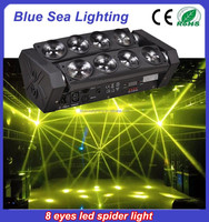 Wholesale 8x10w 4in1spider beam dj equipment prices