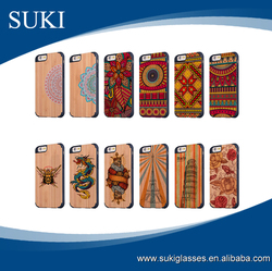 Top quality cell phone cover custom bamboo mobile phone cases wholesale wooden cover