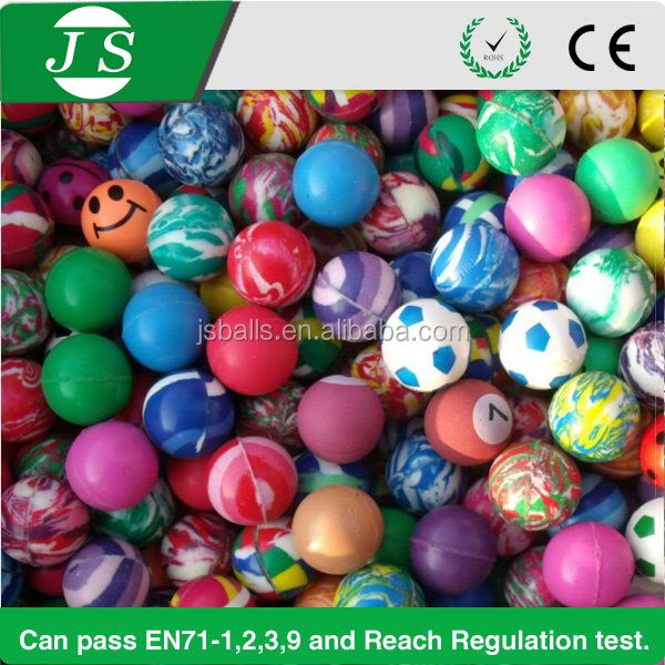 Cheapest updated small bounce rubber balls for sale