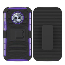 square kickstand case for motorola moto X4 holster cover for moto X4