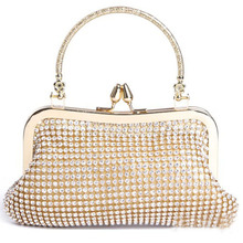 Handcee buy ladies handbags online india with bling Clutch Bag