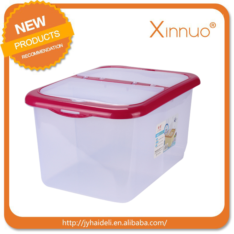 Brand new plastic rice container with high quality