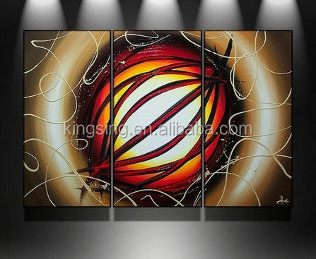 Handpainted Modern wall decor art abstract huge group oil painting on canvas