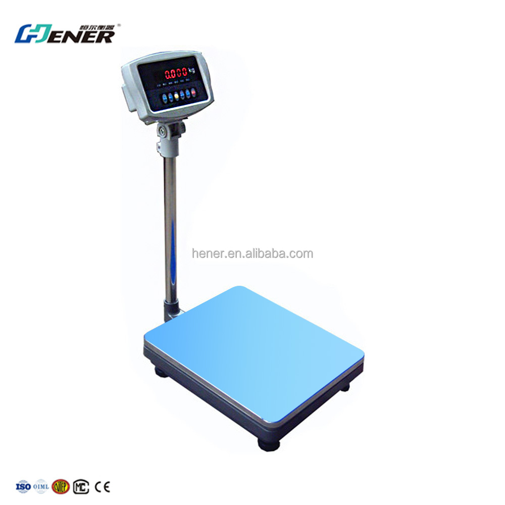 high precision 400kg weighing bench scales