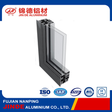 Aluminum window section detail with factory price
