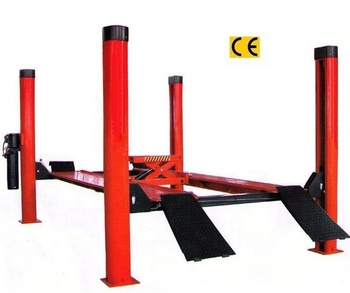 High quality hydraulic 4 post four post hydraulic car lift