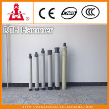 Durable and most popular Air DTH Drill Hammer assemble with Air Track Drilling Rig and Air Compressor