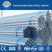 GB/T 3091-2001/BS 1387 Standard and Galvanized Surface Treatment steel pipe