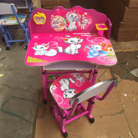 Adjustable baby furniture kids desks and chairs XD-562