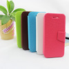 Flip Leather Case With Card Slots For Apple IPhone 5S 5G