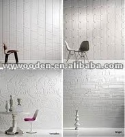 UV painting wall panels ,wave boards 3d panel