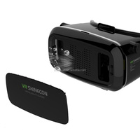 Hot selling shinecon vr headset vr 3d glasses shinecon for 3d movies and games
