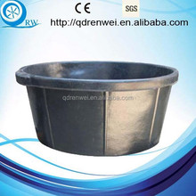 Rubber Bucket Rubber Feed Tub for animal