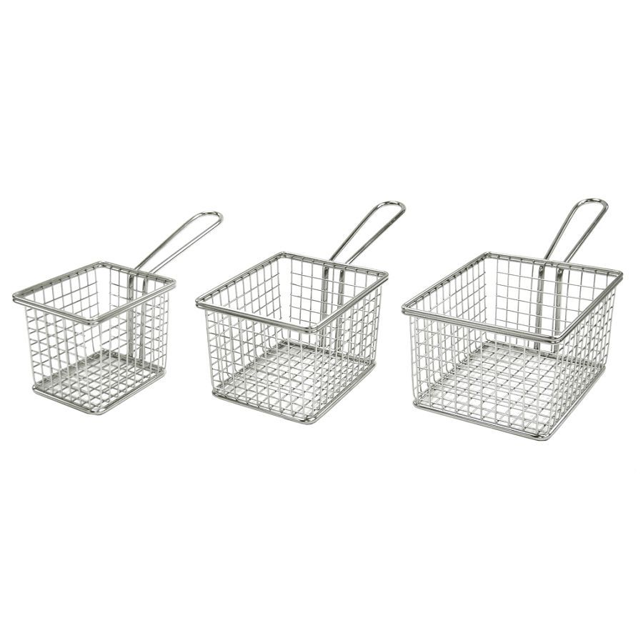 Stainless Steel Mini Wire Basket for Fried Food