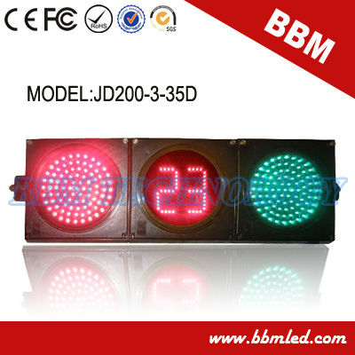 low price 8inch full ball traffic light countdown timer