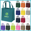 Eco Degradable reusable grocery cart bag grab bag trolley bag