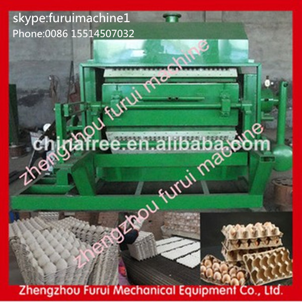 Good Quality Automatic Pulp Paper small egg tray making machine|recycling waste paper egg tray machine