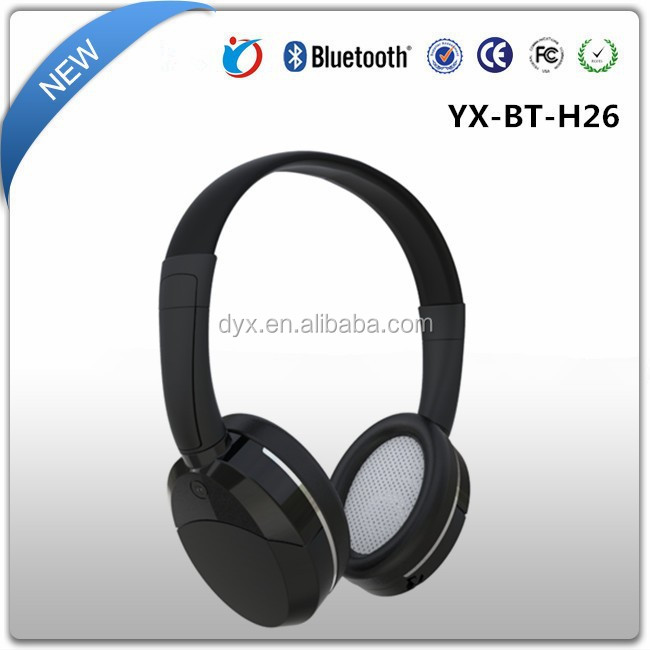 Super quality Comfortable and powerful headphone durable bluetooth cd player