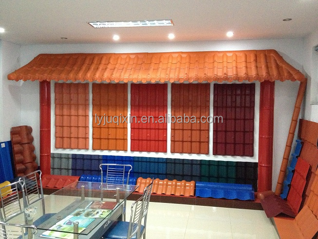 Maintenance free roofing materials/spanish tiles