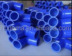90 degree big ID silicone vacuum coolant rubber tube used truck parts