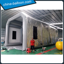 14m giant inflatable spray booth for cars / portable paint booth for garage