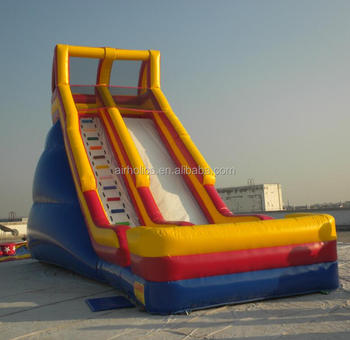 inflatable slide, giant inflatable water slide for summer, inflatable jumping slide for sale A4022