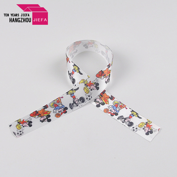 """New style 7/8"""" polyester colorful custom striped grosgrain ribbon"""