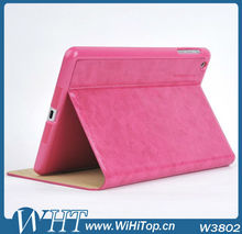 Kaiyue Leather For iPad Mini Leather Case with Stand Function Crazy Horse Leather Skin Brand Case for iPad Mini