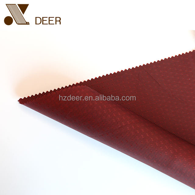 Red Bobby Fabric Liner Material For Suit Or Jacket